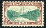 Lake Matheson 1946 peace stamp