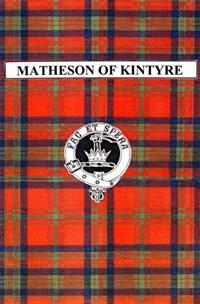 Matheson of Kintyre cover