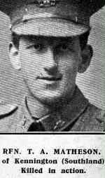 MATHESON, Thomas Alexander 32869 A AWNS 1917 (Custom)