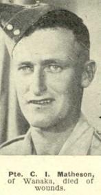 MATHESON, Charles Irvine portrait Auckland Weekly News (Custom)
