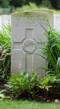 NZ War Graves headstone (Custom)