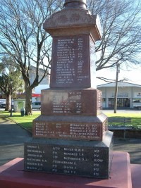 Carterton war memorial